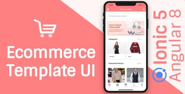 Ecommerce App Theme/Template UI (Ionic 5 Angular 9 & TypeScript) - CodeCanyon Item for Sale