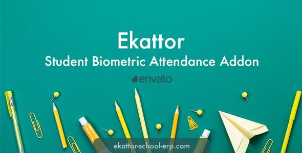 Ekattor Student Biometric Attendance Addon