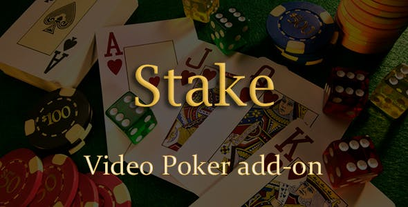 Video Poker Add-on for Stake Casino Gaming Platform