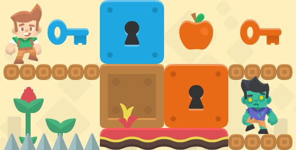 Logical Journey - HTML5 Game + Mobile Version! (Construct 2 / CAPX)