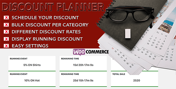 Woo Discount Planner - CodeCanyon Item for Sale