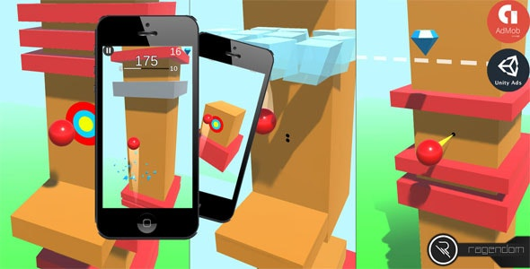 Ball Rise - Complete Unity Game + Admob - CodeCanyon Item for Sale