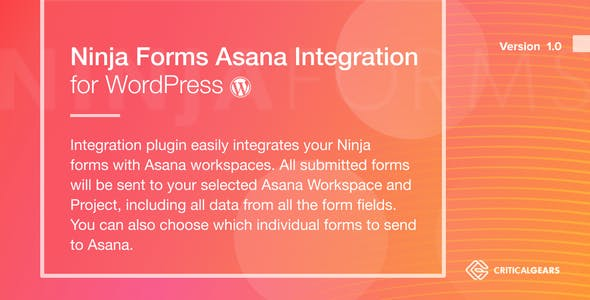 Ninja Forms Asana Integration