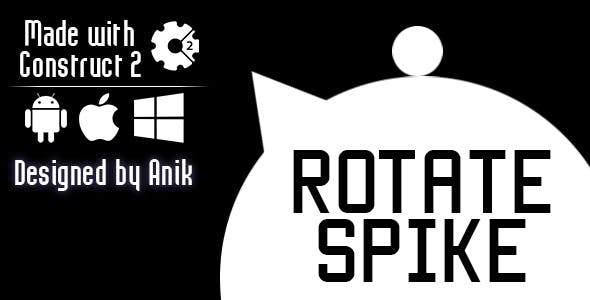 Rotate Spike - HTML5 Game (CAPX)