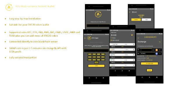 APO Multi-currency Android Wallet