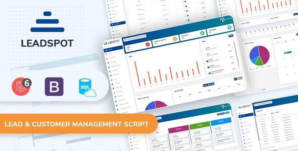 Lead Spot: Lead & Customer Management Script - CodeCanyon Item for Sale