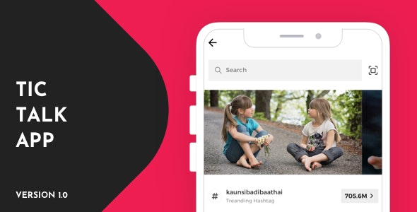 Tic Talk React Native Theme - CodeCanyon Item for Sale
