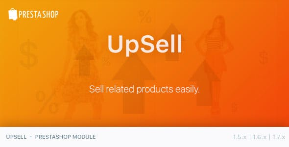 UpSell - PrestaShop Module