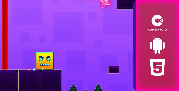 Square Dash - HTML5 & Android Game