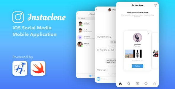 Instaclone - Instagram Full Clone + Admin Panel - CodeCanyon Item for Sale