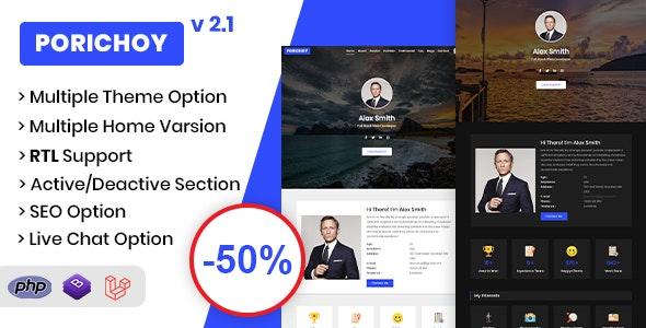 Resume/CV/Portfolio CMS - CodeCanyon Item for Sale