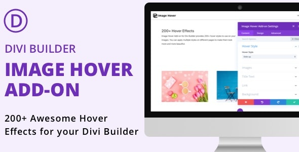 Divi Builder Image Hover Add-on - CodeCanyon Item for Sale
