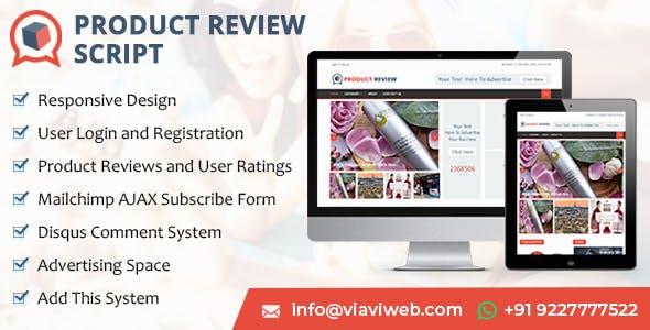 Product Review Script