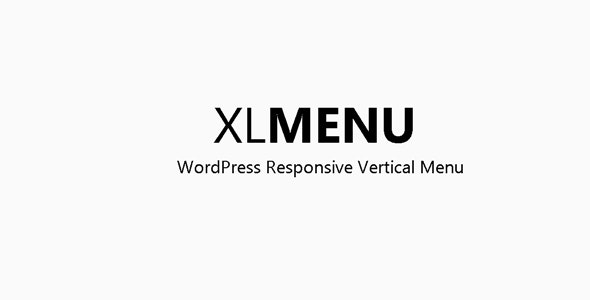 XLFly - Vertical Responsive WordPress Menu - CodeCanyon Item for Sale