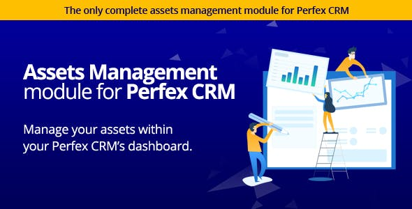 Assets Management module for Perfex CRM - Organize company and client assets