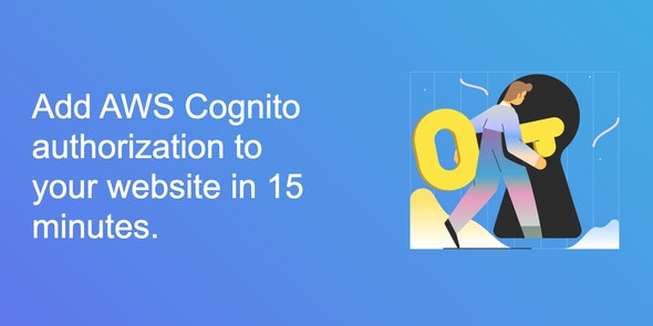 AWS Cognito Authorization For Websites - CodeCanyon Item for Sale