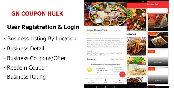 GN Coupon Hulk - CodeCanyon Item for Sale