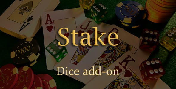 Dice Add-on for Stake Casino Gaming Platform
