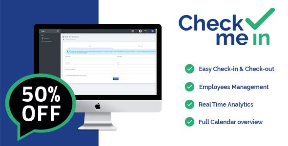 Check me in – Clients Management System