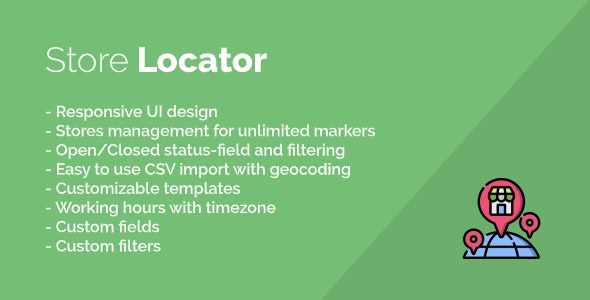 Store Locator (Google Map) - CodeCanyon Item for Sale
