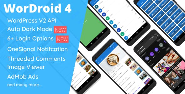 WorDroid - Full Native WordPress Blog App