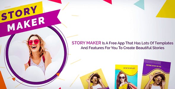 Story Maker - Android App + Admob and Facebook Integration