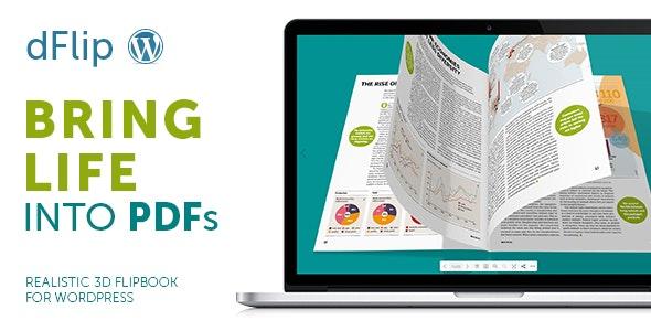 dFlip PDF FlipBook WordPress Plugin - CodeCanyon Item for Sale
