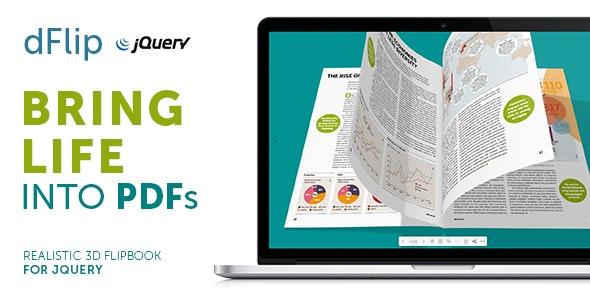 dFlip PDF FlipBook jQuery Plugin - CodeCanyon Item for Sale