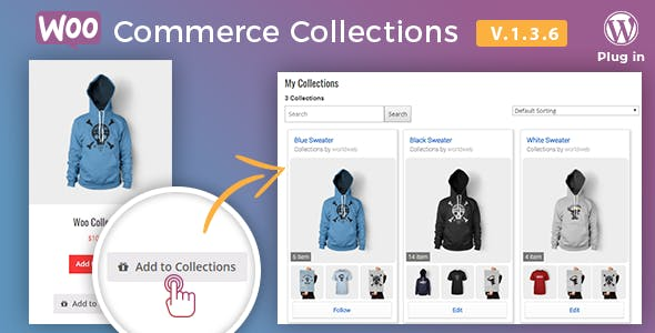 Docket - WooCommerce Collections / Wishlist / Watchlist   - WordPress Plugin
