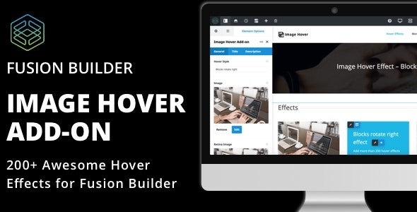 Image Hover Add-on for Fusion Builder and Avada - CodeCanyon Item for Sale