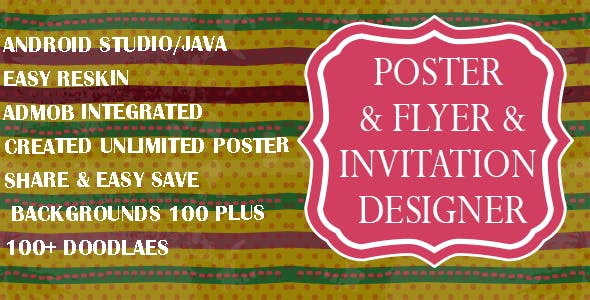 Poster Maker : Flyers, Invitation, Banner Design