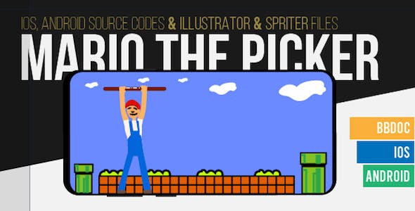 Mario The Picker Game Template for Android and IOS