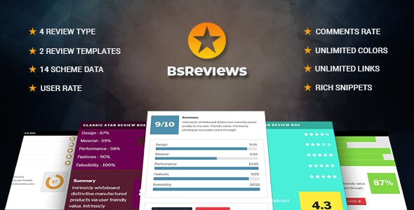 BsReviews - WordPress Posts & Comments Review Plugin