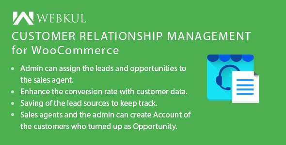 WooCommerce Customer Relationship Management (CRM) - CodeCanyon Item for Sale