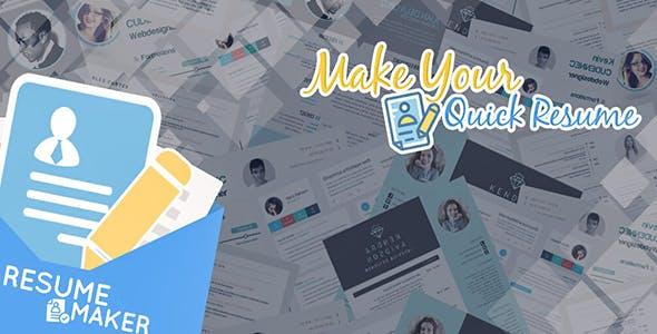 Resume Maker - Admob and Facebook Integration