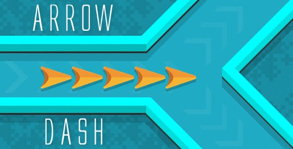 Arrow Dash - HTML5 Game (Construct 3 / Construct 2 / Capx)