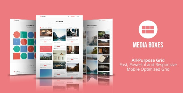 Media Boxes Portfolio - jQuery Grid Gallery Plugin - CodeCanyon Item for Sale