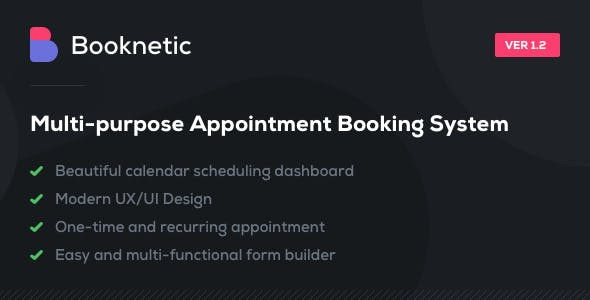 Booknetic - WordPress Appointment Booking and Scheduling system