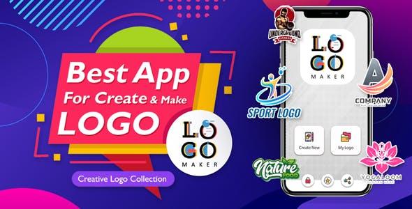 Logo maker app android , native app