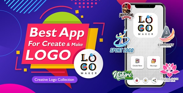 Logo maker app android , native app - CodeCanyon Item for Sale