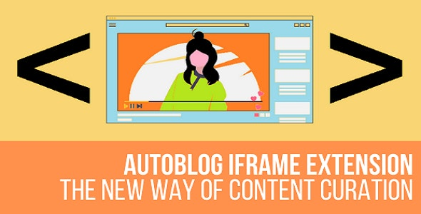 AutoBlog Iframe Extension Plugin for WordPress - CodeCanyon Item for Sale