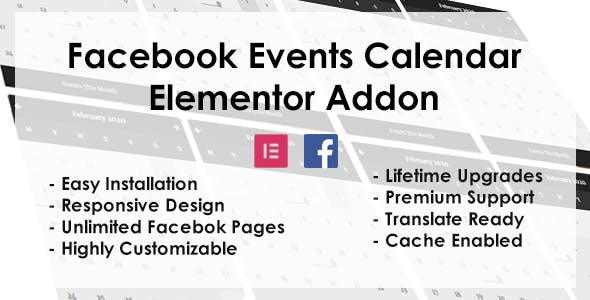 Facebook Events - Elementor Addon