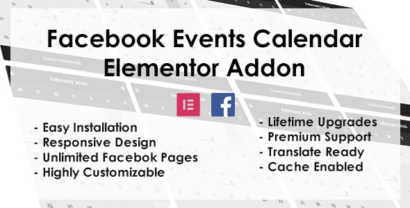Facebook Events - Elementor Addon - CodeCanyon Item for Sale