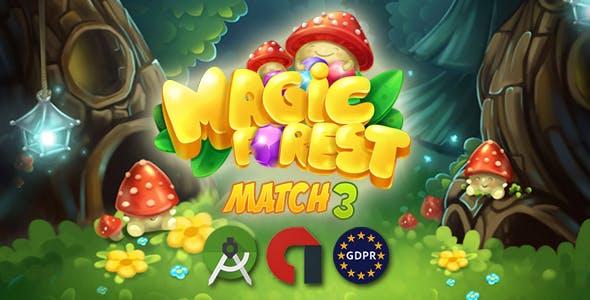 Magic Forest - match3