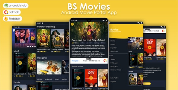 BS Movies - TMDB Streaming App - CodeCanyon Item for Sale