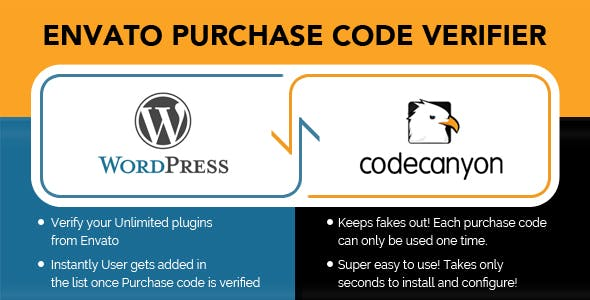 Envato Purchase Code Verifier