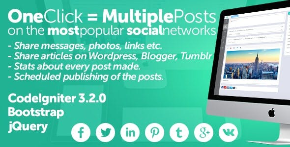 Midrub Posts - schedule and publish on the most popular social networks