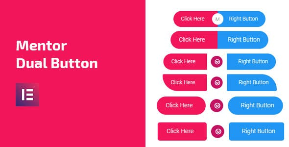Mentor Dual Button - Dual Button Addon For Elementor