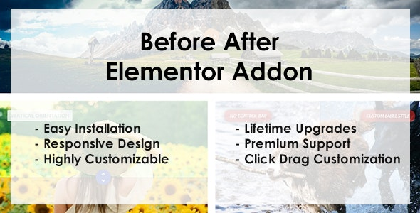 Before After - Elementor Addon - CodeCanyon Item for Sale