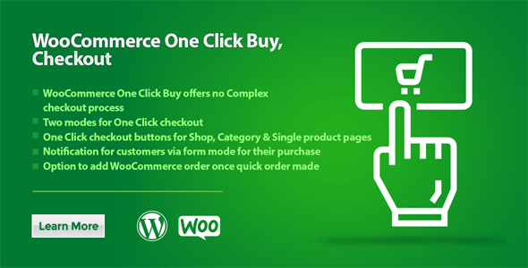 WooCommerce One Click Buy, Checkout